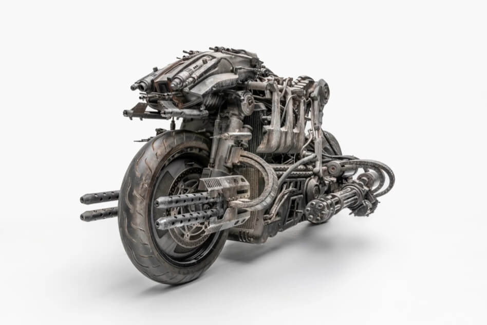 The Skynet Moto-Terminator from Terminator: Salvation.